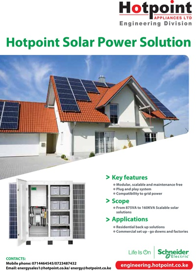 Hotpoint Solar Power Solution
